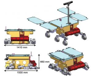 Projekt łazika marsjańskiego, projektowanego do wysłania w drugim etapie misji ExoMars.