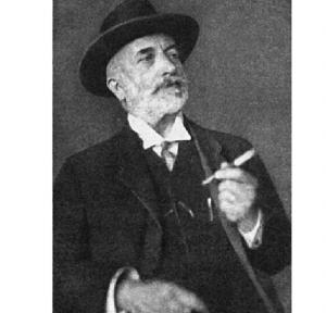 Andrija Mohorovičić (1857-1936) zdjęcie z roku 1926, wykonane przez jego syna Stiepana